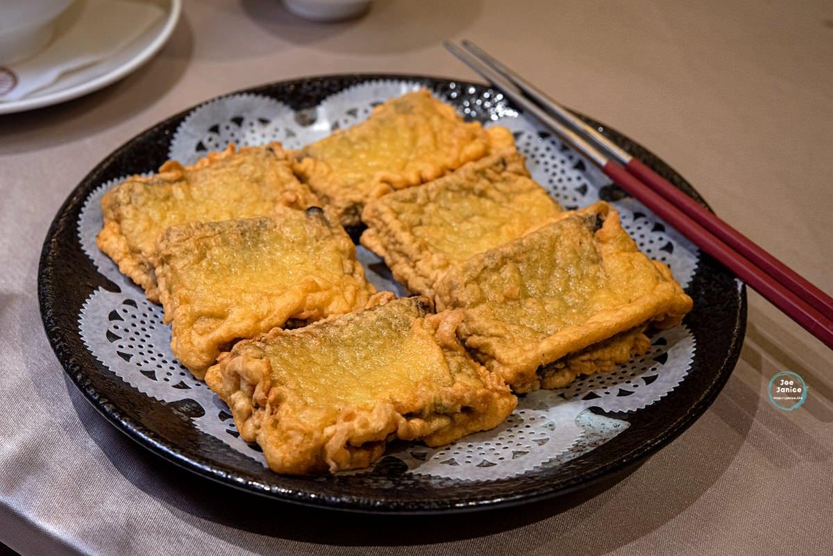 點水樓Dian Shui Lou 點水樓南京店 台北聚餐餐廳推薦 台北餐廳推薦 米其林餐廳 酥炸花蓮壽豐鄉黑糯米年糕