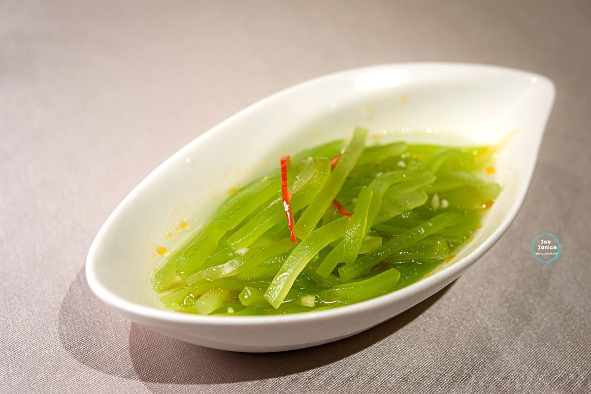 點水樓Dian Shui Lou 點水樓南京店 台北聚餐餐廳推薦 台北餐廳推薦 米其林餐廳 涼拌香烏筍